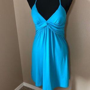Papaya halter dress